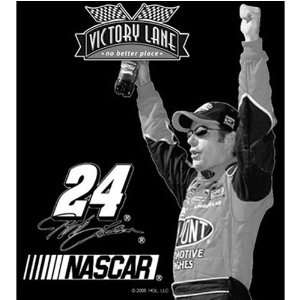 Get Etched Jeff Gordon Laser Etched Granite Victory Lane Coasters Set