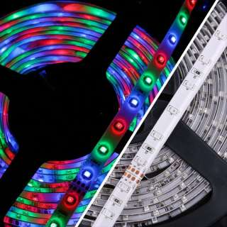 5M 300leds 3528 RGB Non Waterproof Flexible Strip Lights+24Key IR