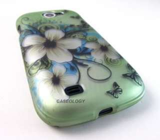 FLOWER HARD CASE COVER SAMSUNG EXHIBIT II 2 4G PHONE ACCESSORY