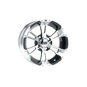 08 12 POLARIS RANRZR800 ITP SS112 REAR WHEEL   14X8 MACHINED (SILVER)