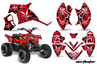 GRAPHIC ATV WRAP OFF ROAD DECAL STICKER KIT POLARIS OUTLAW 90 NSR
