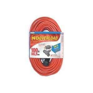 Prime Wire & Cable CB614735 100 Foot 14/3 SJTW Triple Tap