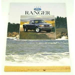 1996 96 Ford RANGER Pickup Truck BROCHURE Splash XLT