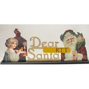 Kurt Adler Dear Santa Christmas Table Display