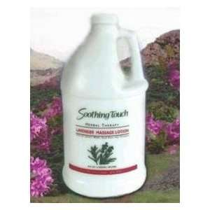 Soothing Touch Herbal Massage Lotion Lavender .5 gallon