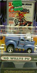 PICK UP TRUCK CARTOONS FUNLINE MUSCLE MACHINES DIECAST 164