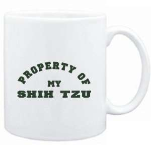 Mug White  PROPERTY OF MY Shih Tzu  Dogs