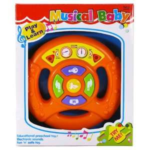 play & learn fun driver musical baby Toys & Games