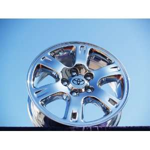 Highlander Set of 4 genuine factory 16inch chrome wheels Automotive