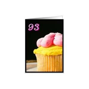 Happy 93rd Birthday Muffin Card Toys & Games