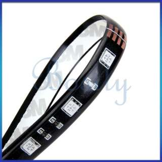 Waterproof 30cm Flexible Color Chang RGB Ribbon LED Light Strip 12V