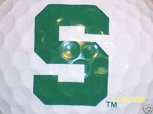 NCAA (1) MICHIGAN STATE SPARTANS LOGO GOLF BALL BALLS