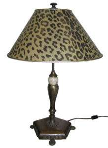 Hungarian or Italian Art Deco Wooden & Metal Table Lamp