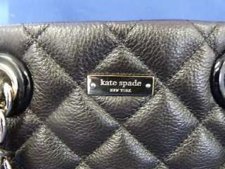 AUTHENTIC KATE SPADE Maryanne Small Quilted Leather Satchel Purse