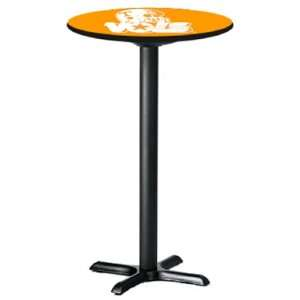 Tennessee Volunteers Laminated Pub Table with Black Trim