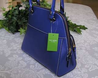 NEW KATE SPADE LEATHER WELLESLEY MAEDA BAG PURSE BLUEBERRY JAM NWT