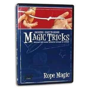 Easy to Learn Magic Tricks with Rope / Magic DVD Toys
