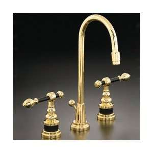 Kohler Polished Brass IV Georges Brass Bathroom Faucet