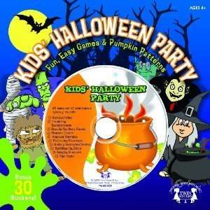 Kids Halloween Party   Fun, Games, Book, CD with Spooky