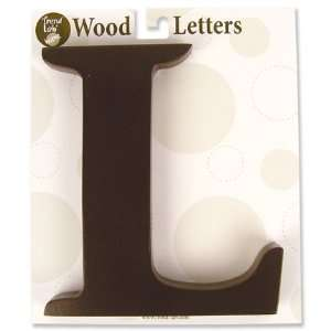 Nursery Baby Decorative Wooden Letter L Baby