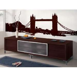 Vinyl Wall Art Decal Sticker London Bridge 10ft Long 37 x