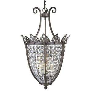 Old World Charm Collection Hanging Globe Light Fixture In