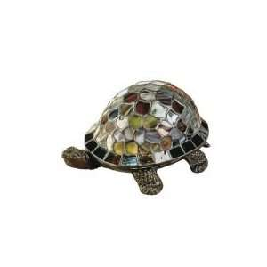 Dale Tiffany Turtle Accent Lamp in Antique Bronze Finish