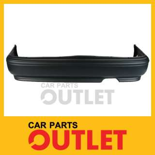 92 93 HONDA ACCORD REAR BUMPER COVER PRIMED LX/SE COUPE