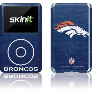 Denver Broncos   Distressed skin for iPod Classic (6th Gen