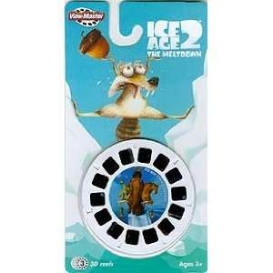 Ice Age 2 The Meltdown 3 D View Master reels pack of 3