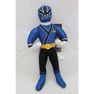 11 Power Rangers Samurai Blue Action Figure Plush Doll