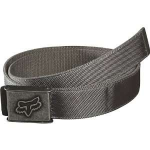 Fox Racing Armour Web Mens Casual Wear Belt   Graphite