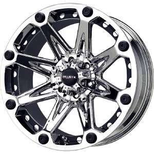 Jester chrome wheels rims 8x170 +12 / Ford F250 F350 Excursion