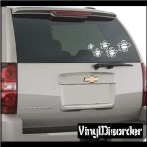 Family Decal Set Turtles Stick People Car or Wall Vinyl