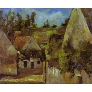 Oil Painting The Hanged Mans House Paul Cezanne Hand