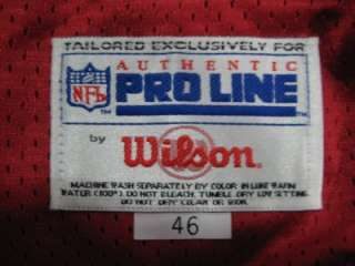1994 Authentic SF 49ers Jerry Rice WILSON jersey 46 SIGNED PRO Line