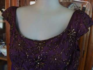 Tiffany Designs~ Rhinestone & Beaded Formal Gown Prom Dress Womens