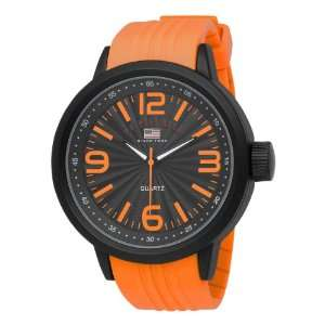 Polo Assn. Men US9053 Strap Watch Orenge