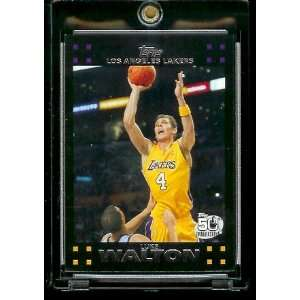 Basketball # 70 Luke Walton   NBA Trading Card