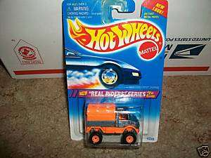 1995 HOT WHEELS  REAL RIDER SERIES MERCEDES BENZ UNIMOG