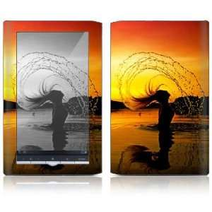 Sunset Design Protective Decal Skin Sticker for Sony