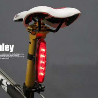 2012 Cycling bicycle 5 LED Bike Rear Tail Lamp Light