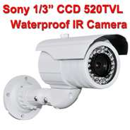 SONY 540 TVL CCD Waterproof IR Color Wired CCTV Cameras Security