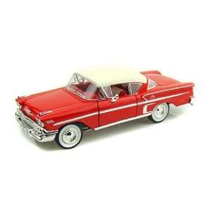 1958 Chevy Impala 1/24   Red Toys & Games