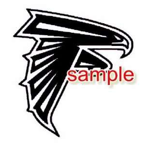 ATLANTA FALCONS LOGO WHITE VINYL DECAL STICKER Everything