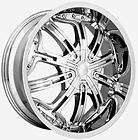CHROME CENTER CAP RIM WHEEL STRADA DOLCE
