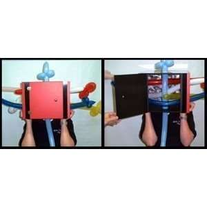 BALLOON THRU HEAD BOX   Kid Show / Stage / Magic T Toys & Games