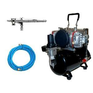 Depot TC 828 Twin Piston Air Compressor w/ Tank