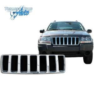 2004 Jeep Grand Cherokee Laredo Chrome Grill Overlay