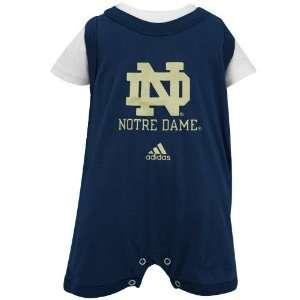 adidas Notre Dame Fighting Irish Infant Navy Blue Tank Over Creeper